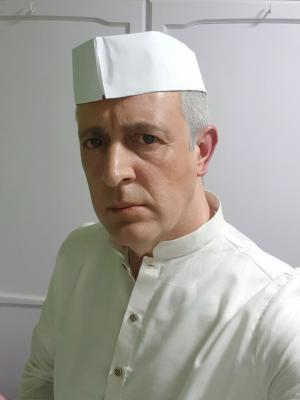 Me as Jawaharlal Nehru