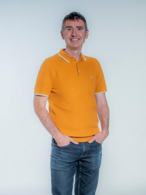 David Cruickshanks standing Body shot, relaxed style