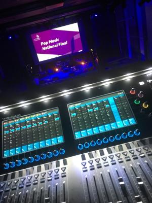 FOH at National Pop Finals (Digico S21)