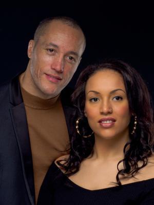Victoria and Del - Couple Headshot Photo