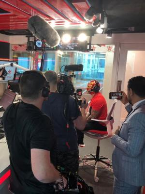 2018 WWE Doc - Interview at Virgin Radio Dubai · By: Af
