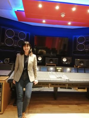 2020 Voiceover recording Feb 2020, University of Westminster · By: Kathryn Wolfe