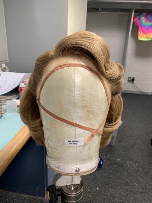 Curtains Musical Wigs