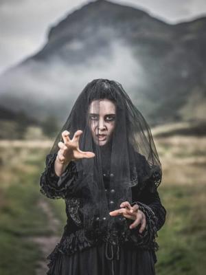 """2018 Edinburgh Dungeon: """"Seance"""" photoshoot · By: Nick Mailer"""
