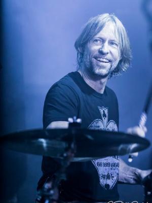 2019 Rick Amsbury Drummer · By: Bill Read