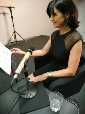 2019 Voiceover recording Zero One Studios, Soho, London · By: Kathryn Wolfe