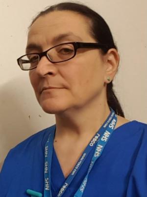 Lucy as Nurse Carla