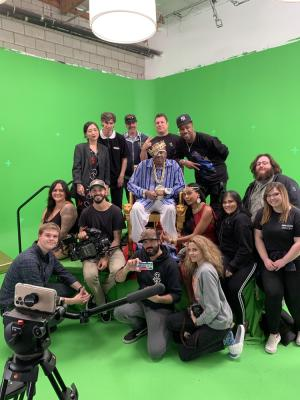 2020 Crew from Slick Rick Music Video · By: Slick Rick's Security