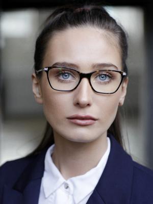 2020 Office girl, School girl, professional headshot · By: Brandon Bishop