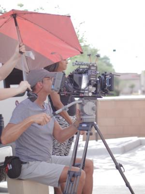 2019 Shooting a short for GI.FT film group · By: David