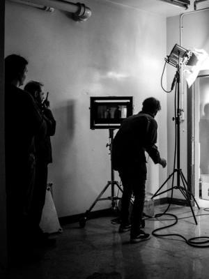 2018 On set · By: Stephen David