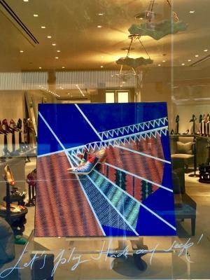 Manolo Blahnik Display NY/Milan/London/Palermo