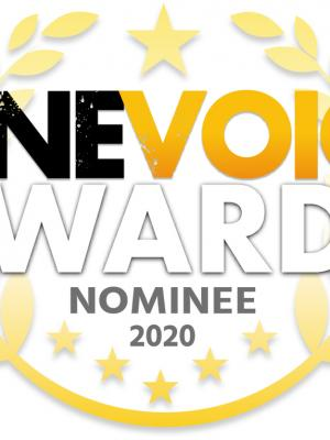 Nominated for a One Voice Award for the 2nd year in a row. This time for Best Male Voice Performance in a Videogame for my work on Triumph Studios' Age of Wonders: Planetfall'