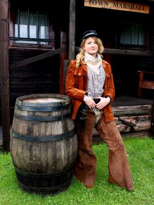 2018 Calamity Jane - Tranquility Wild West Town shoot · By: Lyn Reid