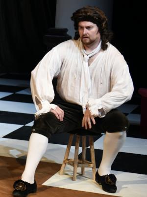 2018 Ben Andrew  - Charles Hart in Nell Gwynn · By: Beth Martyn Smith