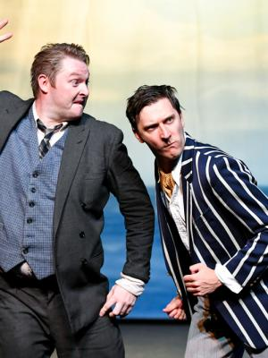 2019 Ben Andrew - Francis Henshall in One Man, Two Guvnors · By: Beth Martyn Smith