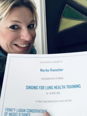 Marika Rauscher (Singing for Lung Health)