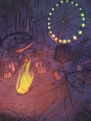 Concept Art_Environment_Journey of Acorn_Mushroom Carnival