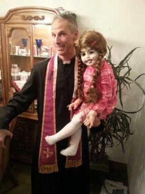 Priest in Horror film