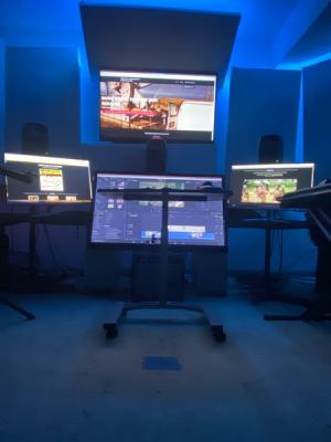 2020 5.1 Mix, sound design and score space. · By: Michel Tyabji