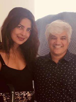 2020 Myself and Pryanka Chopra during a mobile dubbing session. · By: Ralph Rodriguez