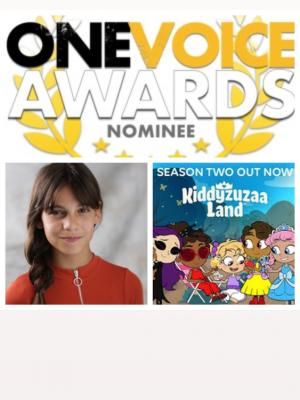 One Voice Nomination- KiddyzuzaaLand Season 2 Voice of Malice and Esme