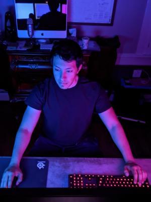 2020 Andrew Reynoso Editing Station · By: Michael Shayne
