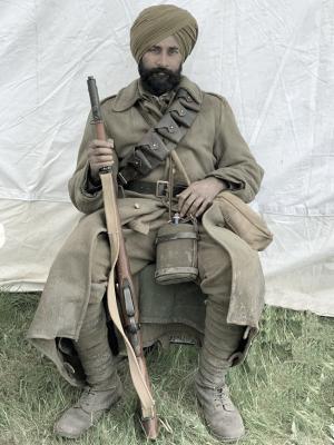 1917 - on set