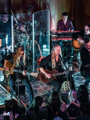 Playing Keyboards with Jerry Cantrell at The Pico Union Project
