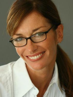 Jo Price Headshot in specs