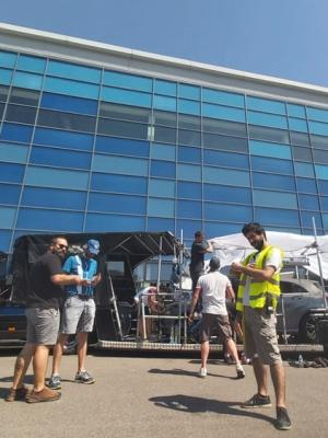 ON THE SET OF PROJECT 12