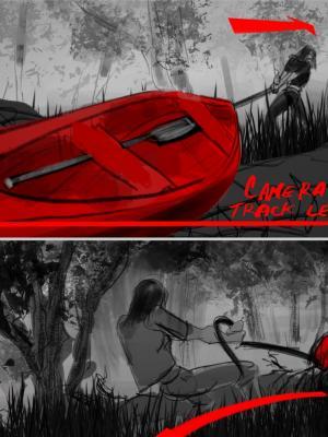 2020 Storyboard for Horror Film 02 · By: Jean Claude De La Ronde