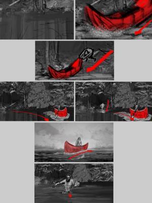 2020 Storyboard for Horror Film 04 · By: Jean Claude De La Ronde