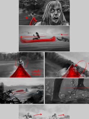 2020 Storyboard for Horror Film 05 · By: Jean Claude De La Ronde