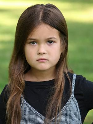 Delilah Hefner, Child Actor