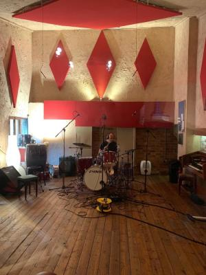 My studios live room, which is also used for creating Foley