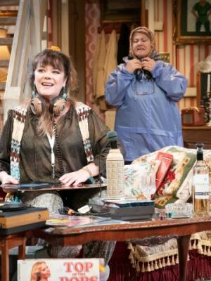 Josie Lawrence as Sylvie & Annette Badland as Garnet in 'Our Lady Of Blundellsands' @ The Everyman Liverpool