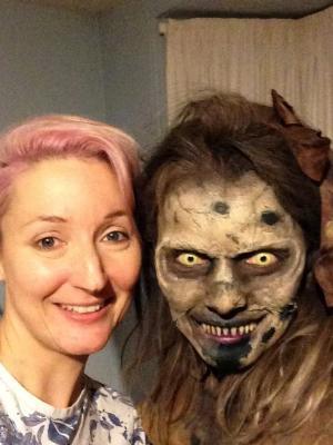 2018 SFX Demon makeup for TV pilot of 'Gracemarch' · By: Ann Tillinghast
