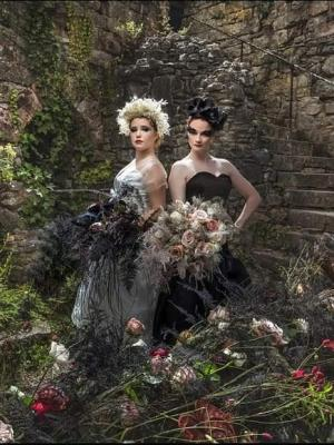 Couture Swans