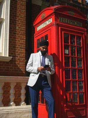 London photo shoot