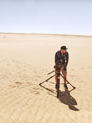 Filming in Abu Dhabi