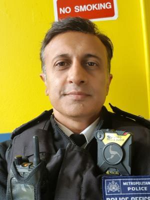 2020 Policeman · By: Sandeep Mohan