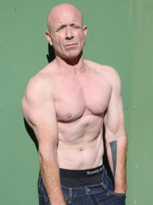 paul mcfadyen topless head to waist