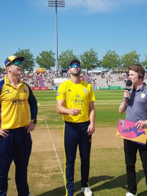 2019 Matchday Presenting at The Ageas Bowl · By: Dave Vokes