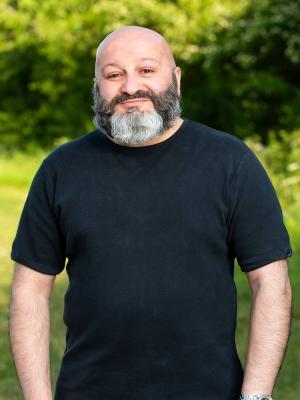 2020 Bearded knee length headshot by Jeff Chaplin 02.06.20 · By: Jeff Chaplin
