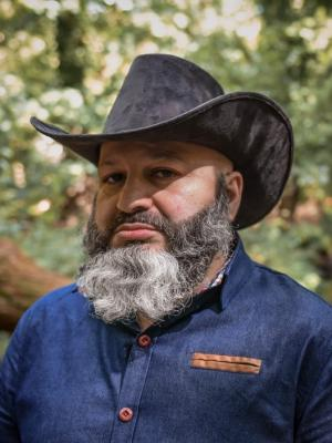 2020 Bearded cowboy by Will Jungle McClure 05.09.20 · By: Will Jungle McClure