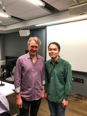 Photo with Carter Burwell