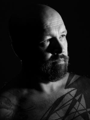 Tattoos / Low Key Portrait