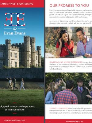 Evan Evans Brichure