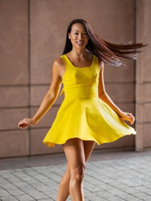 2020 Yellow Dress · By: Egor